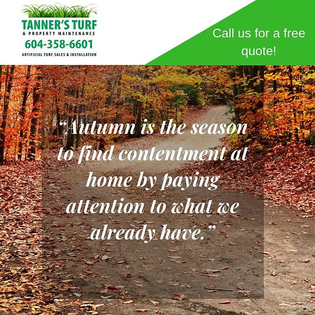 Tanners Turf is the only way to go! Bring on easy lawn maintenance! #tannersturfservice