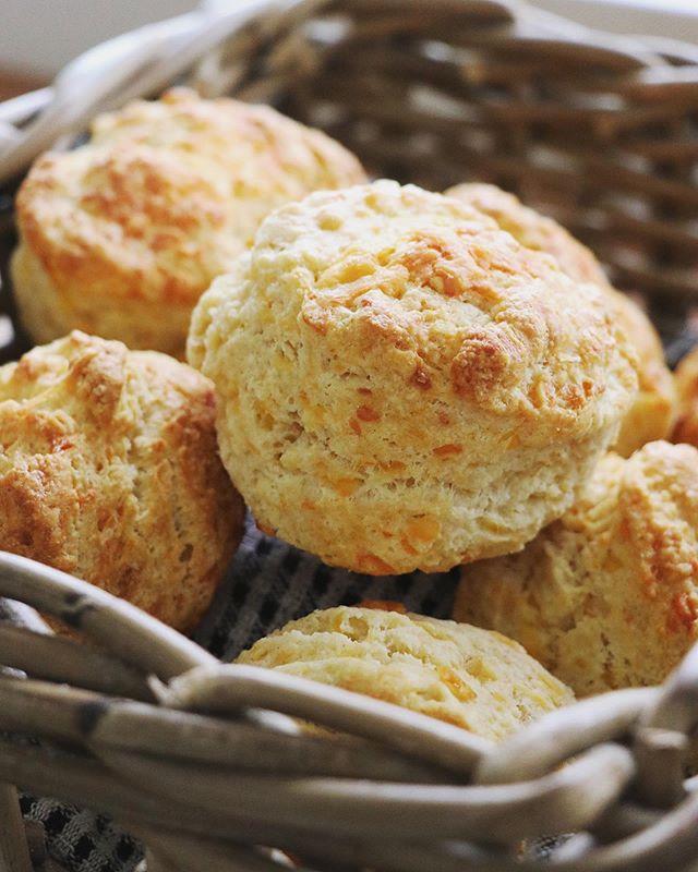 It's a warm cheese scone kinda day🌧🌧 . . . . . . . . #millyskitchen #coffeeshop #cuparnow #homebaking