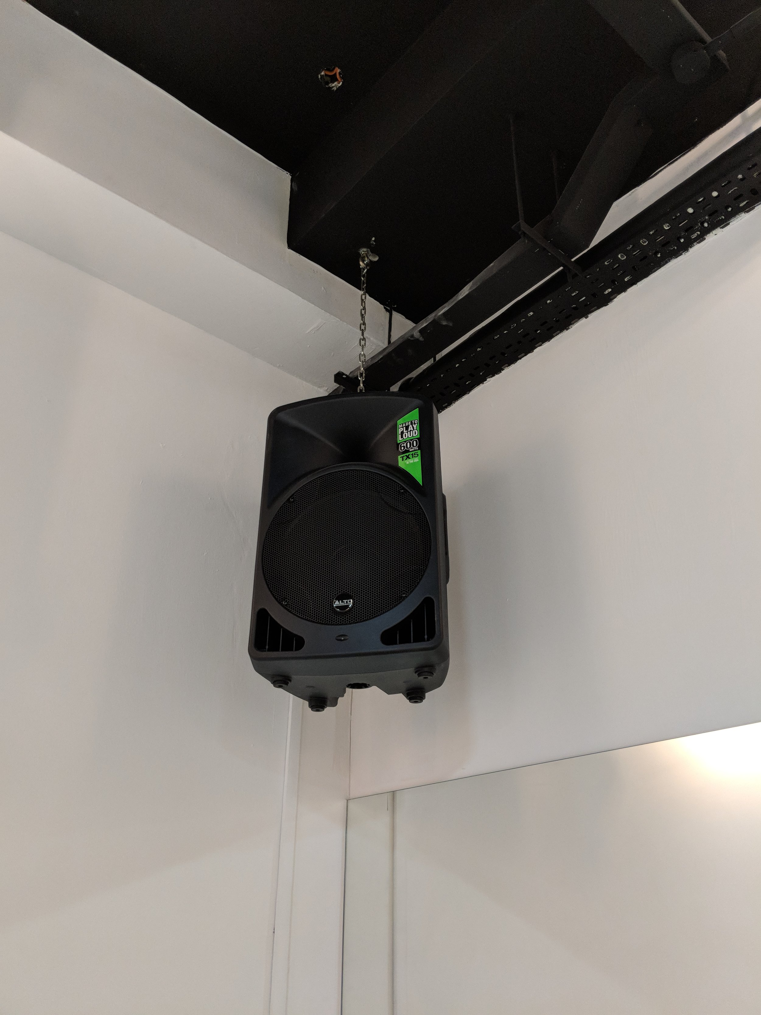 Mid June - sound system