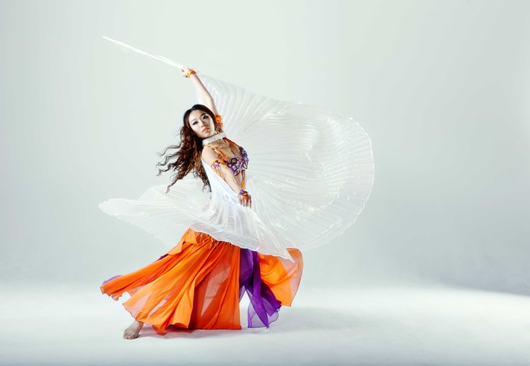 Dream Dance and Yoga bellydance fitness class at the Dream Dance and Yoga studio!