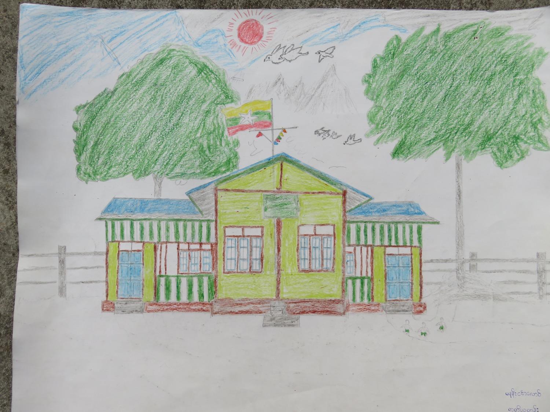 Nang Nin Ioung (9) - Paw Myar Primary School, Myanmar