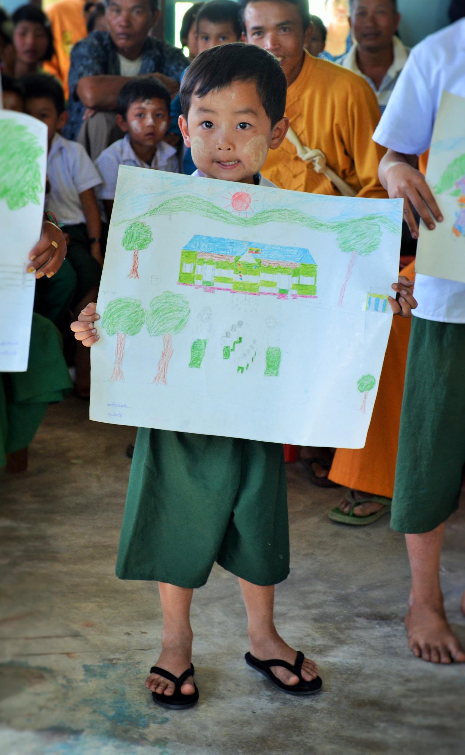 Sai Nay Lin, the artist himself!