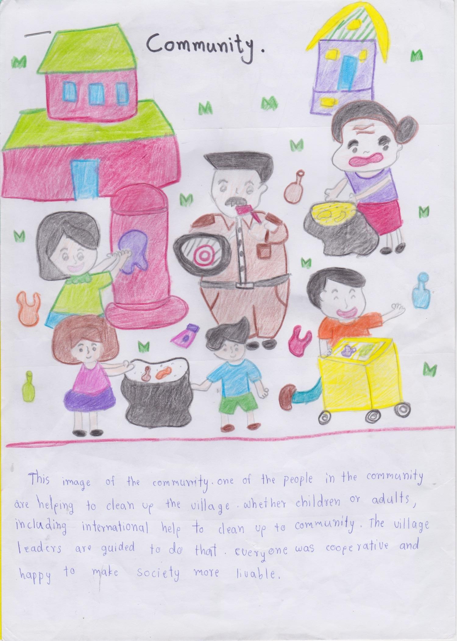 Amita, Thatpicha, and Orawee - Mae La Noi Daroonsik School, Thailand