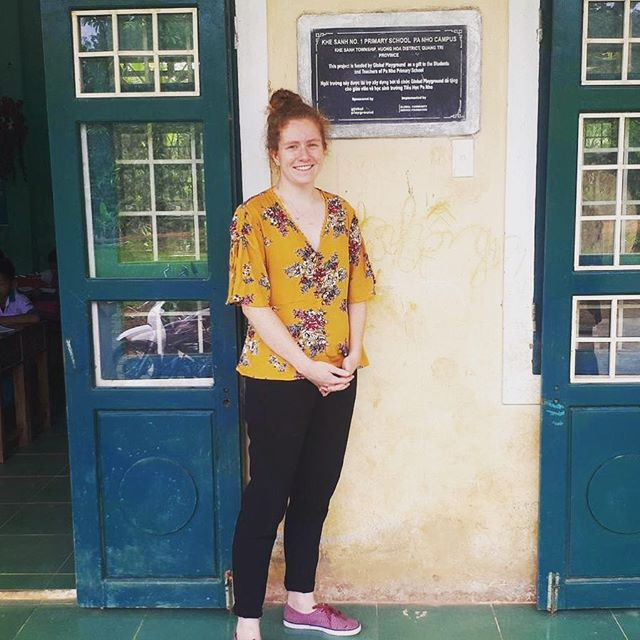 And she's off! Our Global Management Fellow, Katie Shields, starting her fellowship in Vietnam!