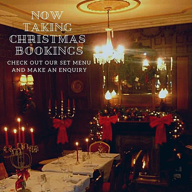 Believe it or not, the enquiries are coming in hot and fast!  So much so that we have added our new 2018 Christmas Set Menu to the website... Link in bio!