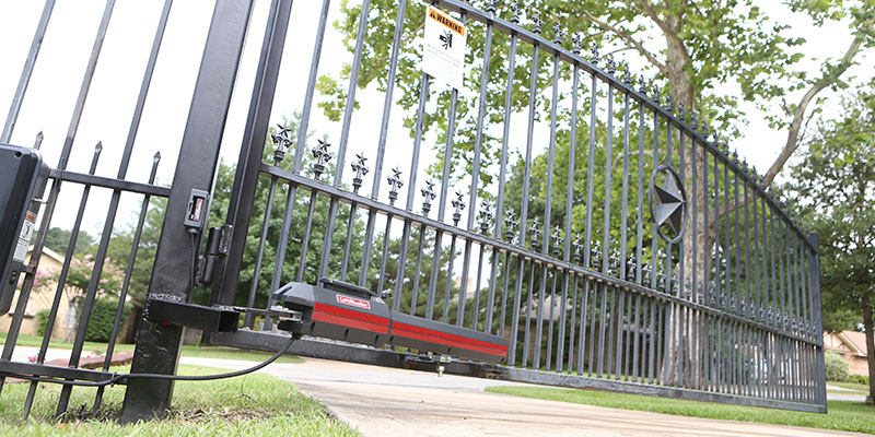 Swing Gate Actuator  At Controlled Access of the Midwest, LLC we specialize in gate automation installations. We work in different industries including:  Self-Storage ,  Apartment Complex/Gated Communities ,  Residential ,  Parking , Apartment/College Residents Halls, Mixed Use Buildings,  Commercial / Industrial & Maximum Security . We offer many high quality gate operators including:  slide gates ,  barrier (parking) gate applications,   swing gates , and  pivot gates . We are able to install the effective and space efficient  Turnstiles , and  Bollards . We install safety solution accessories: Vehicle Detection Loops, Safety Edges, Photo Eyes, and  Emergency Access Devices . For your Access Control Solutions we install the cutting edge of technology in  Card Readers ,  Key Pads,  Transmitters & Receivers,  RFID, UHF Readers , and  Telephone Entry Systems  for residential and commercial use.  Installation is only the beginning of our on-going relationship! Controlled Access of the Midwest guarantees our installations with superior service to give you peace of mind.  Controlled Access of the Midwest, even has a  Superior Service Agreement  Plan for your project installation.  Call for a  FREE Estimate  on your gate automation and access control solutions.  Whether you are looking to upgrade or remodel your current application, we've got a solution for you!