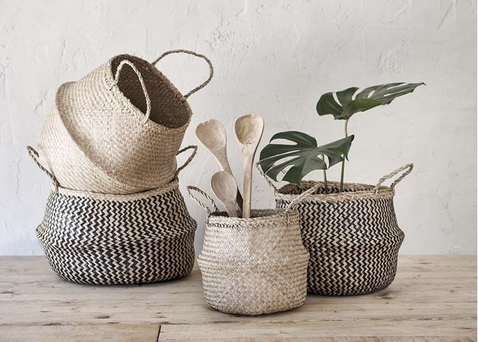 Baskets from Nkuku, Totnes