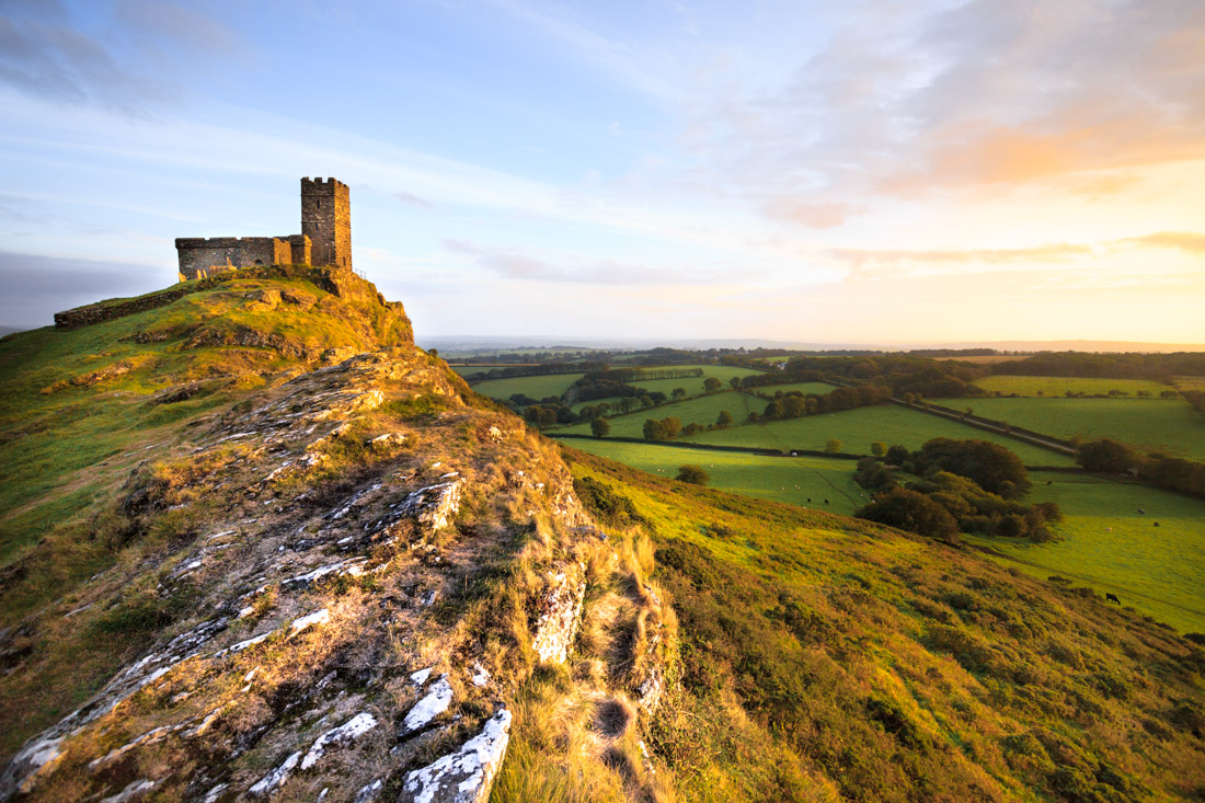 Brent Tor is one of Devon's most romantic destinations