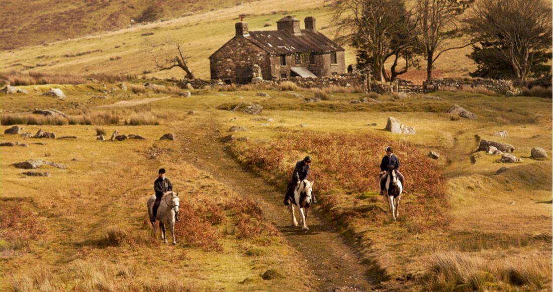 Horse-riding on Dartmoor