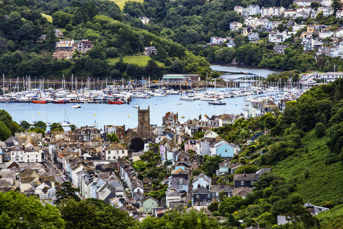 Dartmouth is a romantic sailing town in town