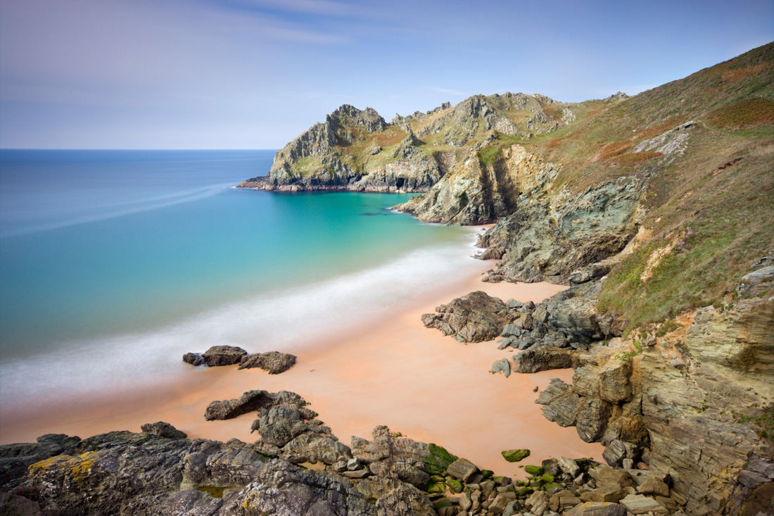 Elendor Cove is one of Devon's most romantic places to visit