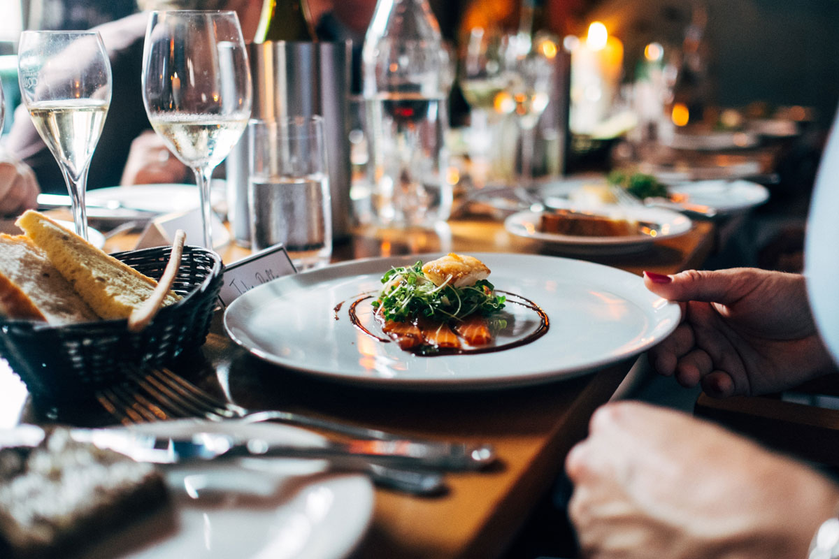 WORLD-CLASS DINING - Some of England's best restaurants are our doorstep, including Bovey Castle, where Moorland View guests have 15% off food and drink, Gidleigh Park and Michelin-starred The Elephant.