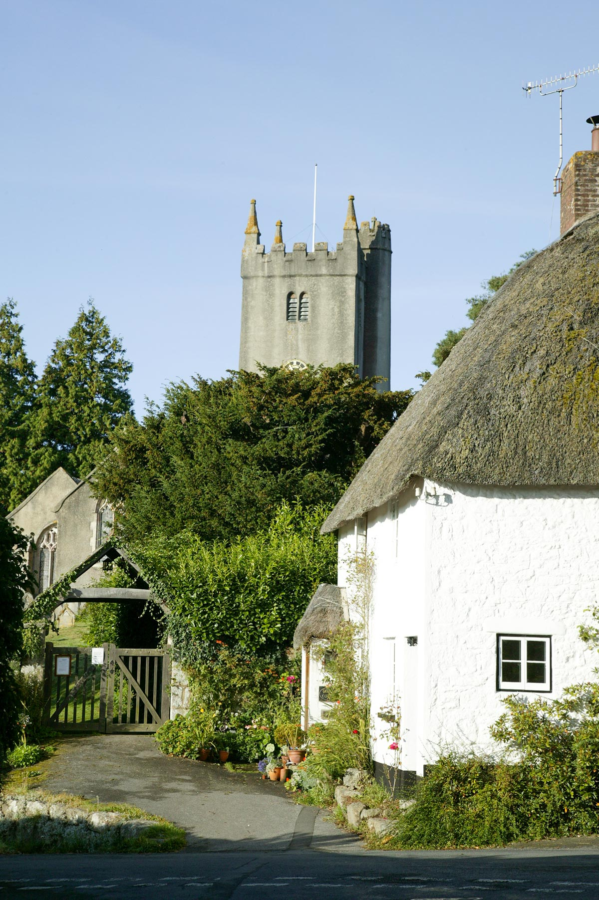 Our luxury cottage is in the 13th century Dartmoor village of North Bovey