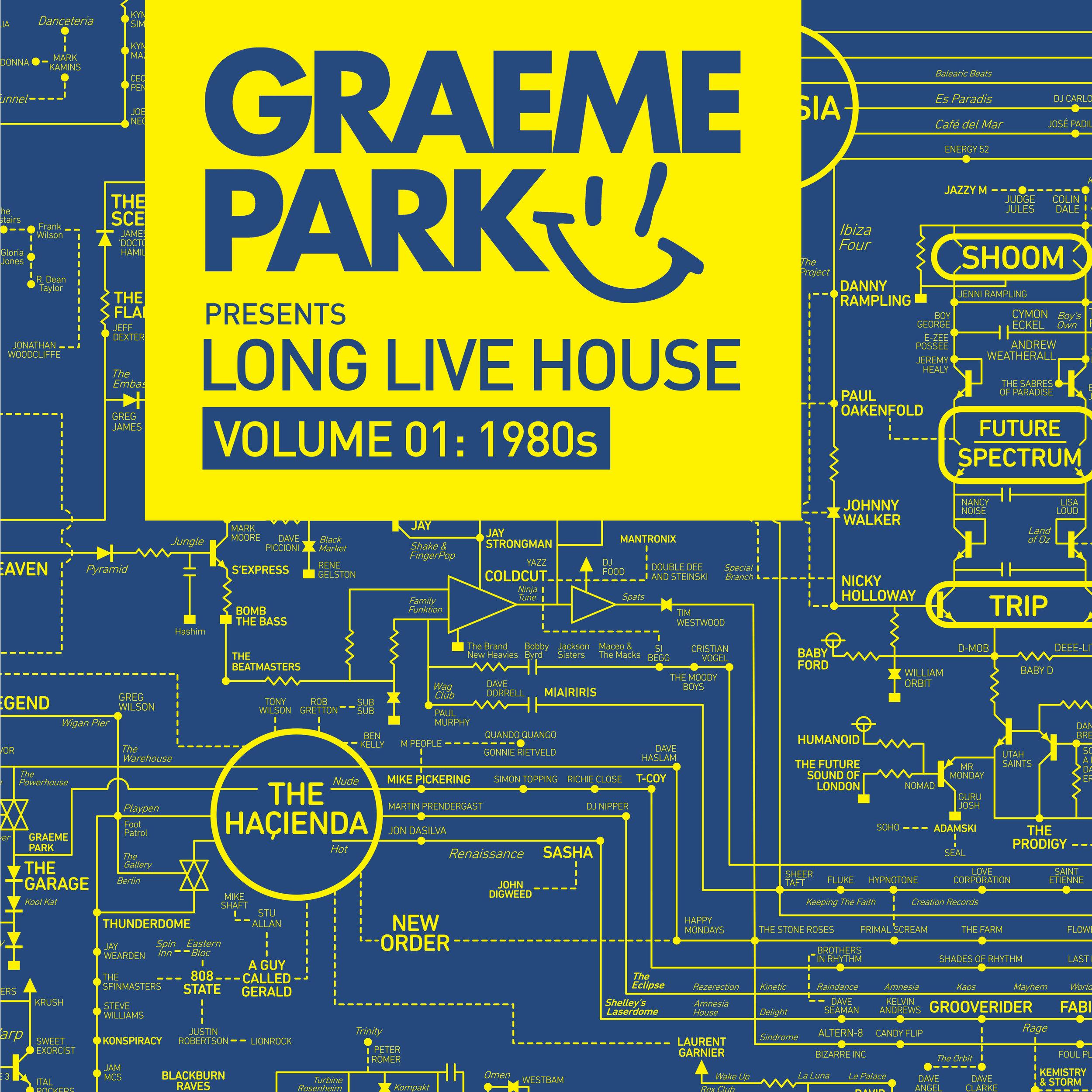 Long Live House Vinyl Cover