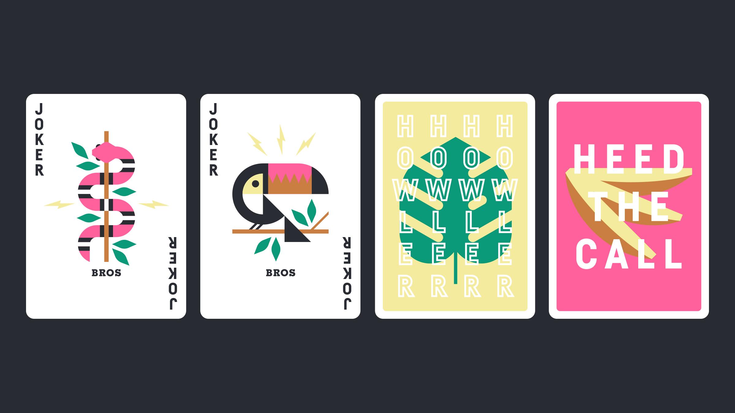 Howler Bros. Playing Card Jokers