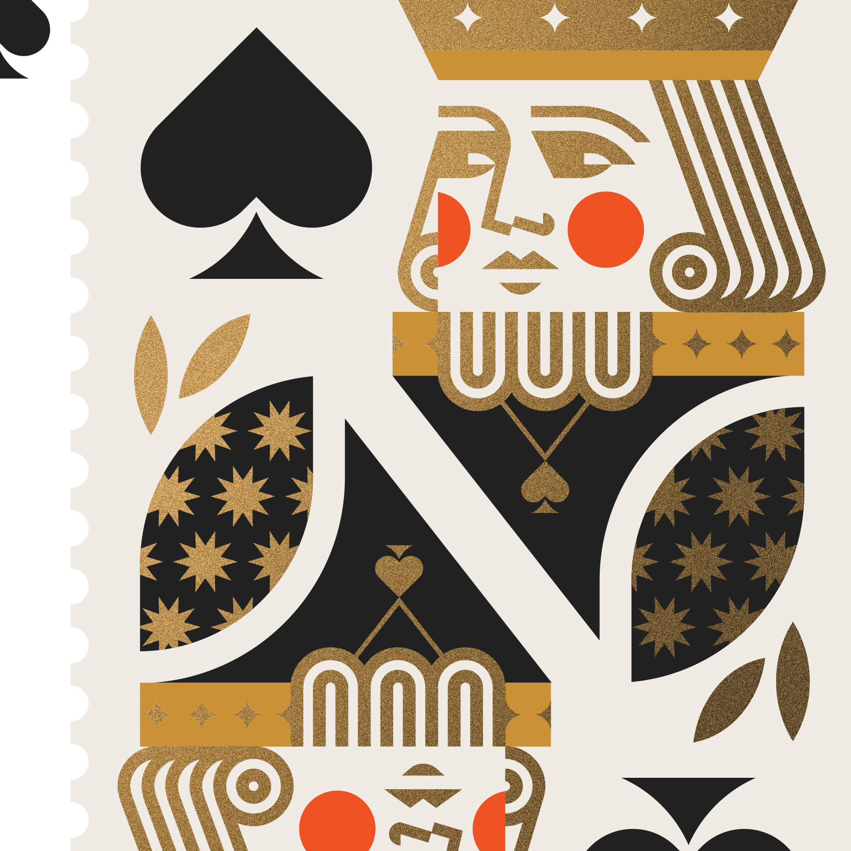 The Art of Magic King of Spades