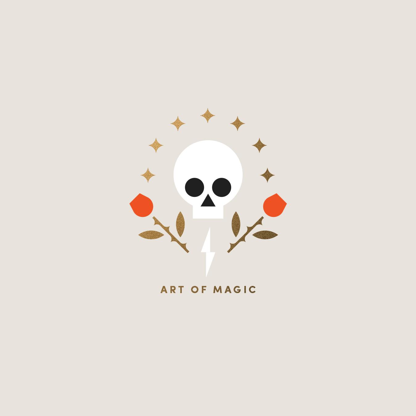The Art of Magic Skull & Roses