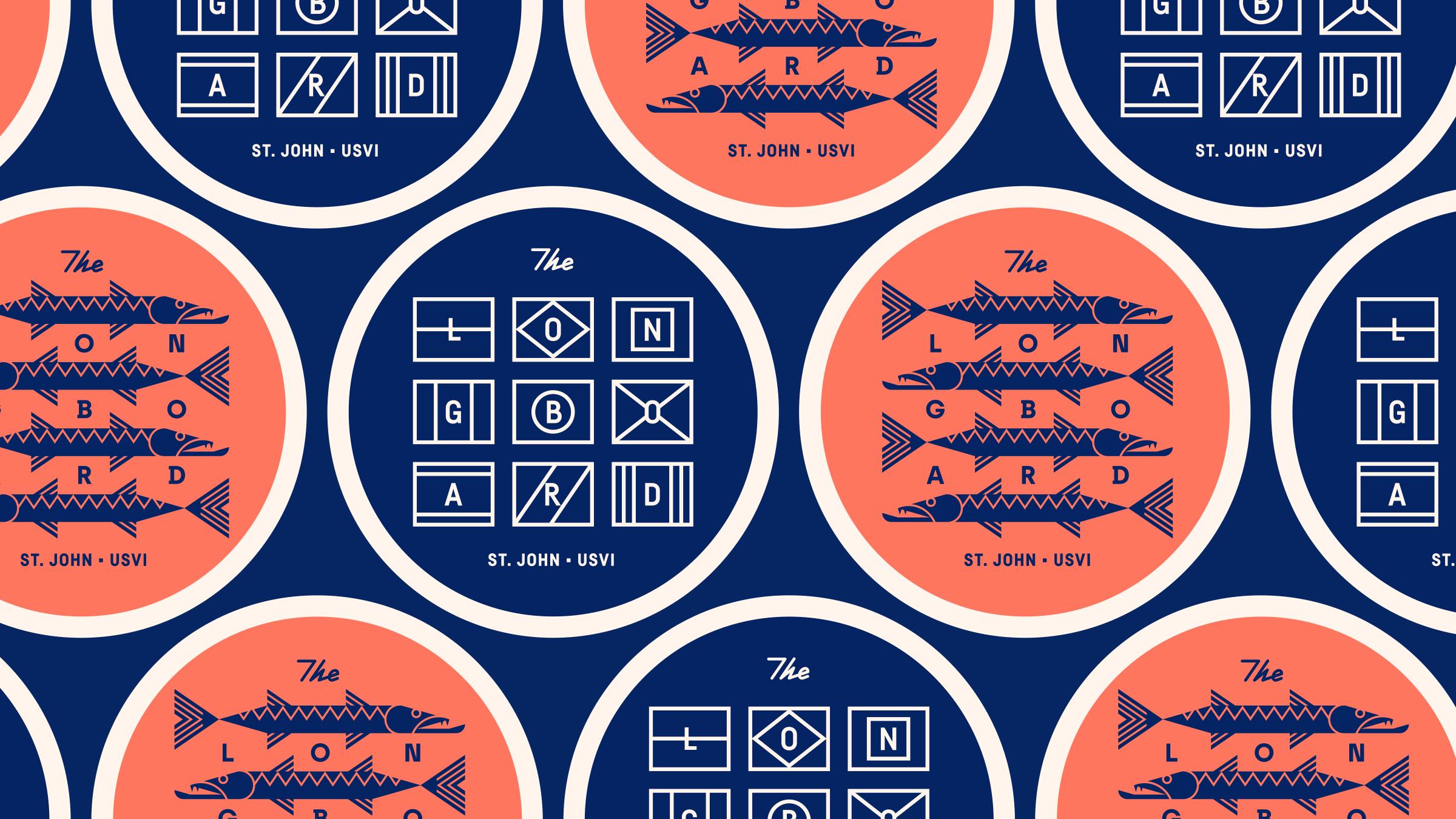 The Longboard Coasters