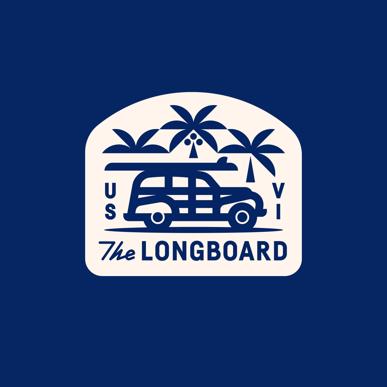 The Longboard Woody Surf Mobile