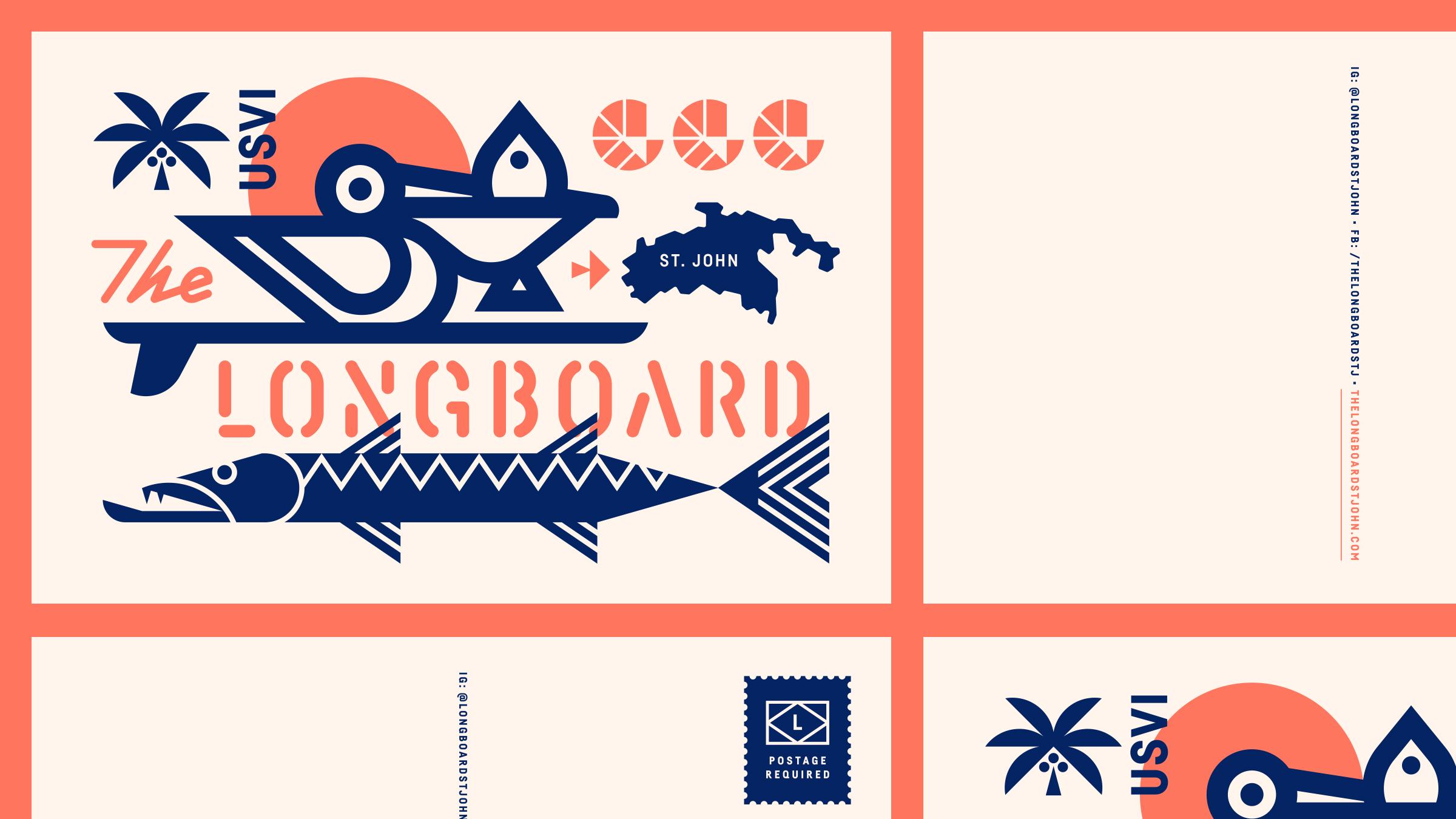 The Longboard Postcard