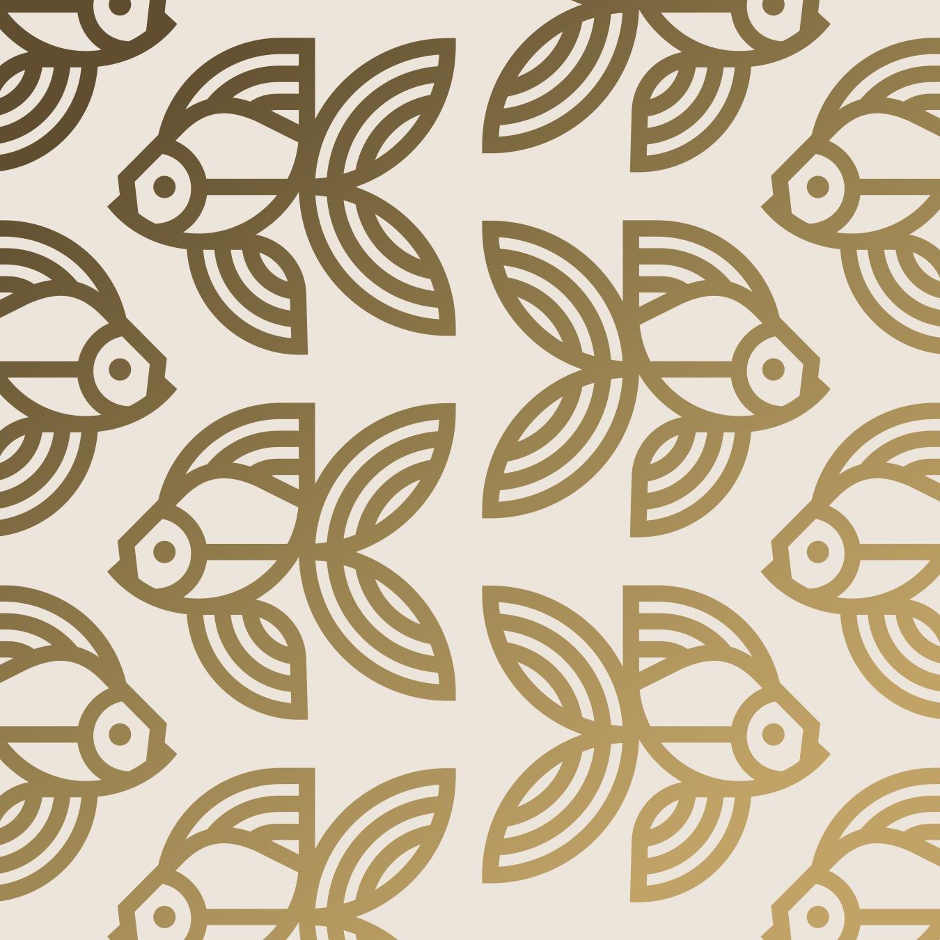 Caviar & Bananas Goldfish Pattern