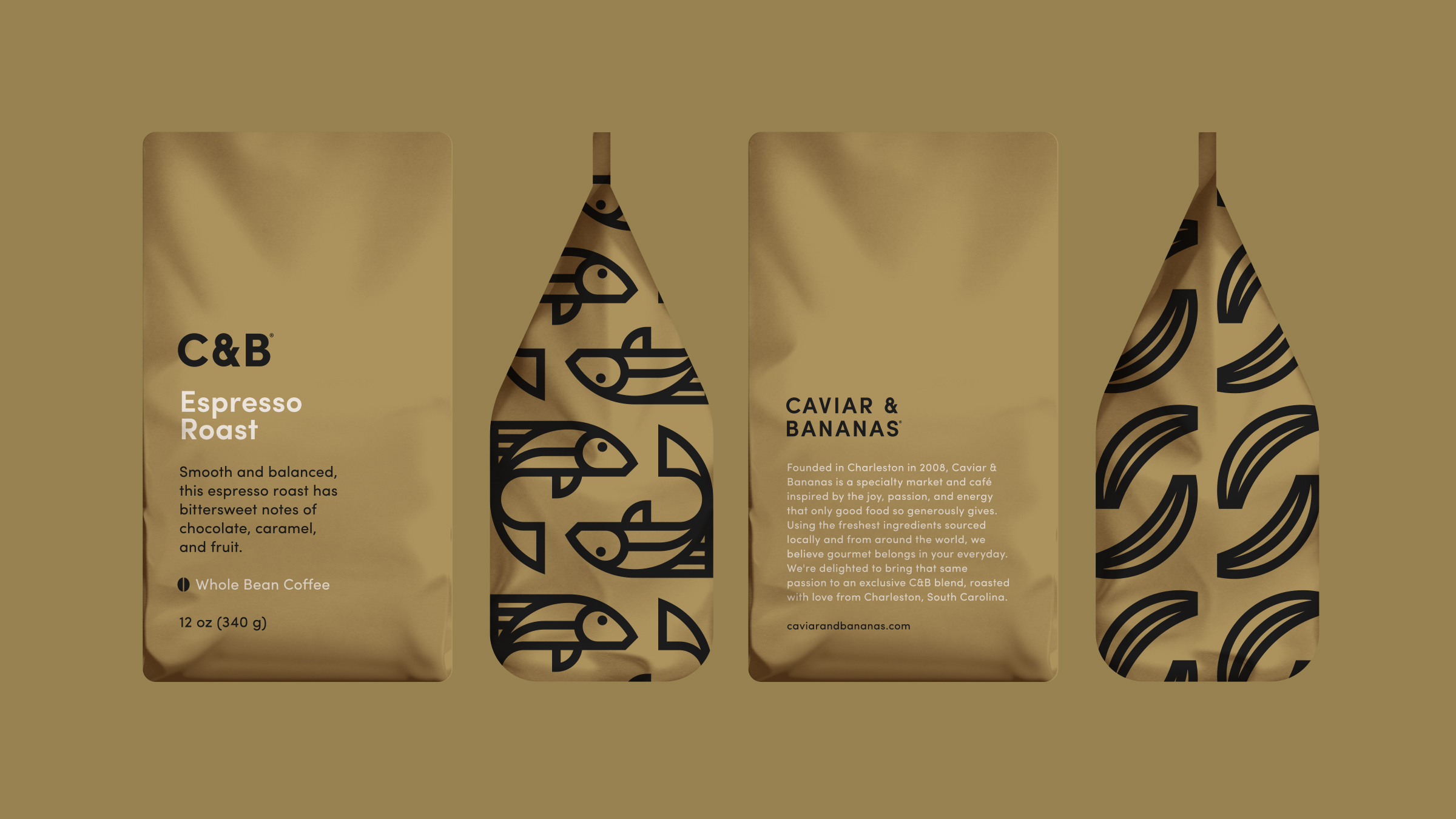 Caviar & Bananas Coffee Bag