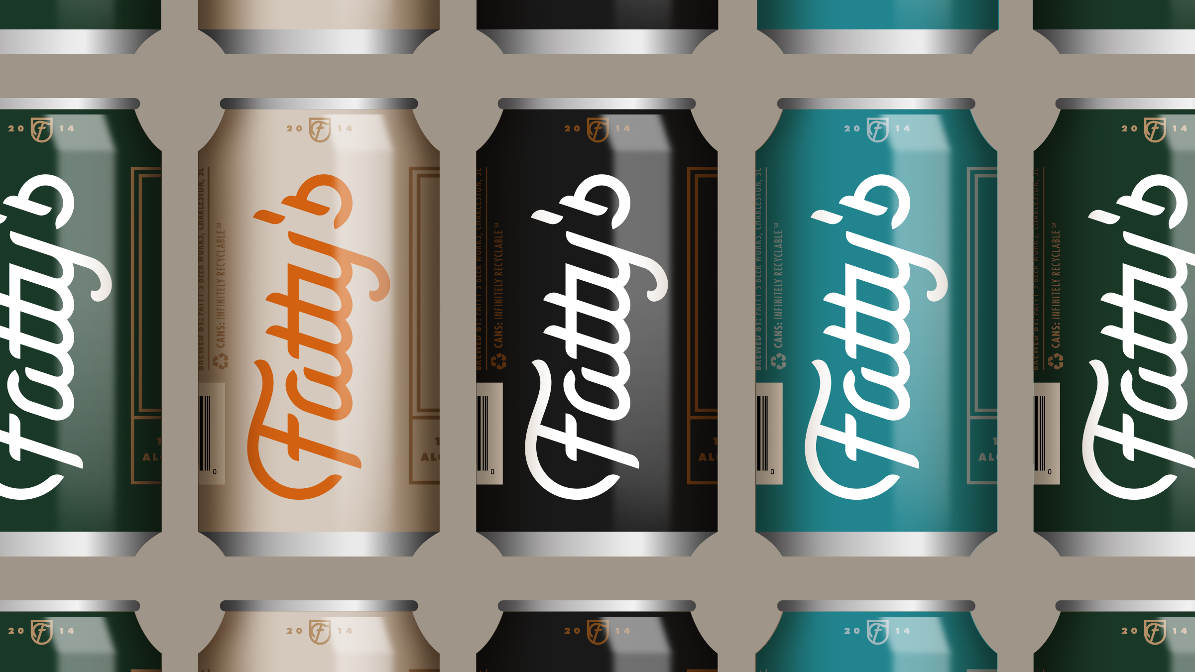 Fatty's Beer Works Can Design Lineup