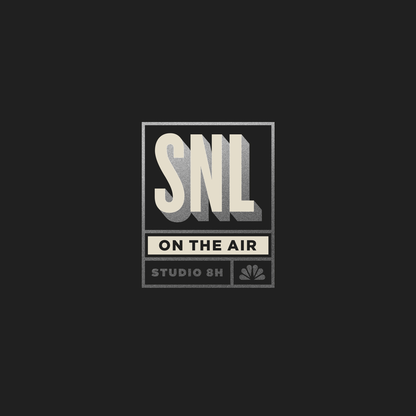 Saturday Night Live SNL Studio 8H Logo