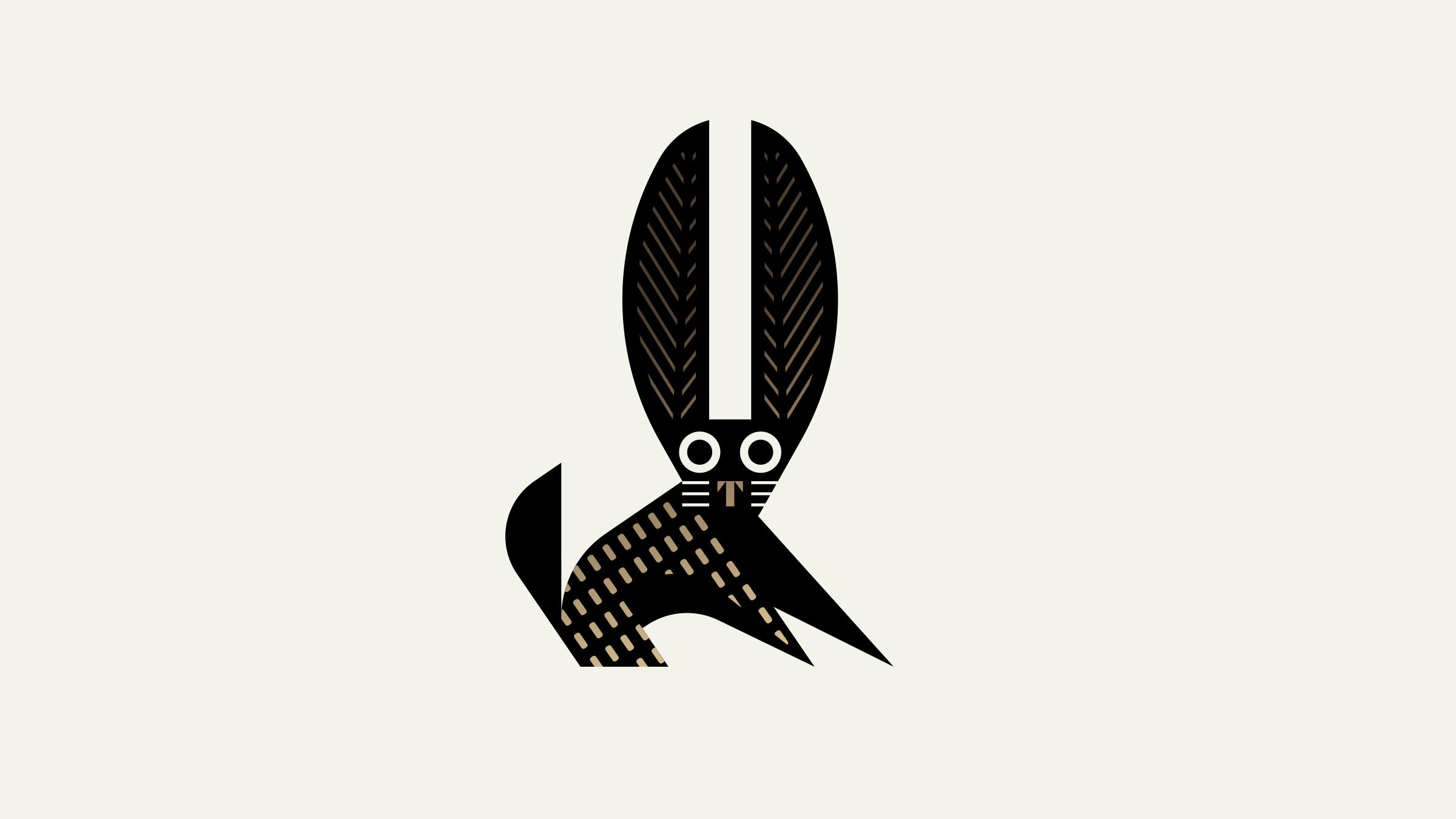 El Thrifty Restaurant Rabbit Logo