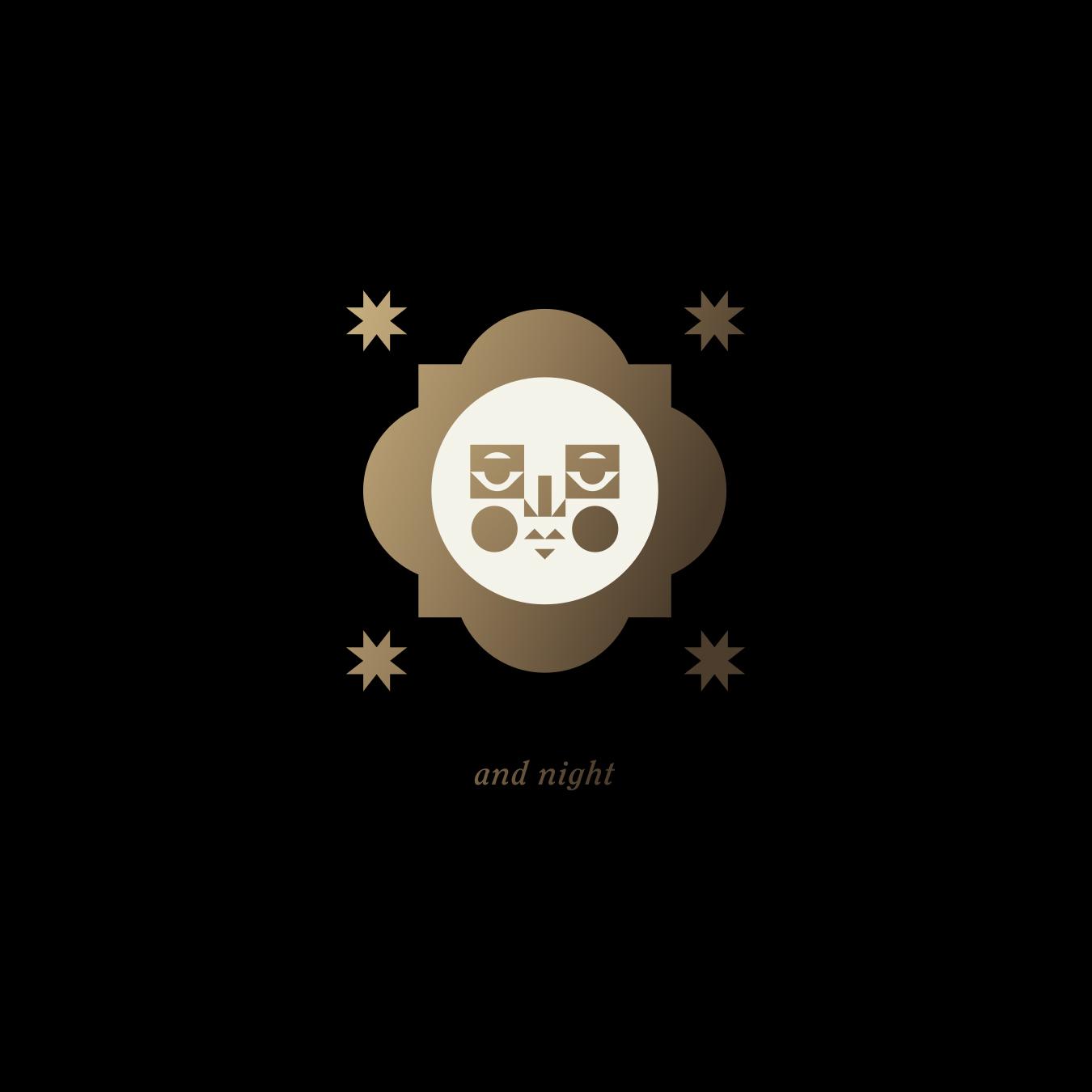 El Thrifty Restaurant Night Moon Logo