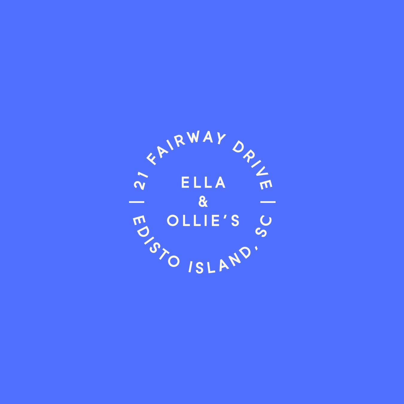 Ella & Ollie's Logo Seal