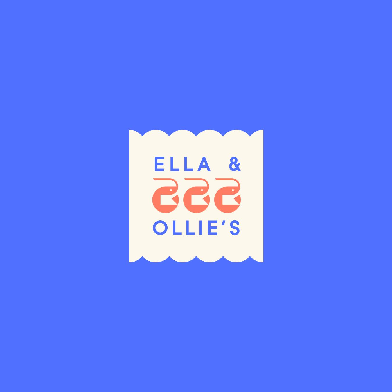 Ella & Ollie's Shrimp Logo