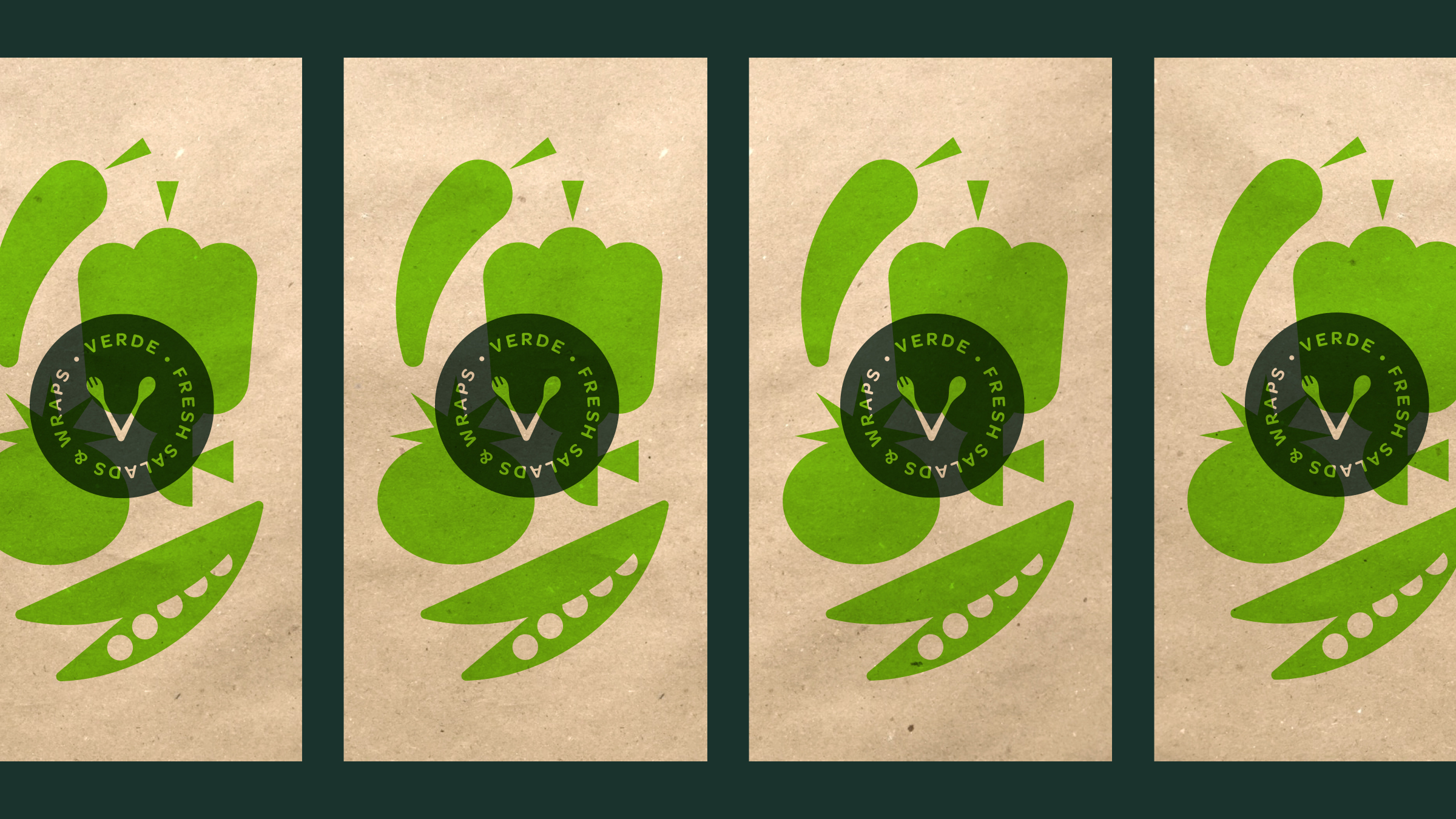 Verde Salad Restaurant Smaller Bags