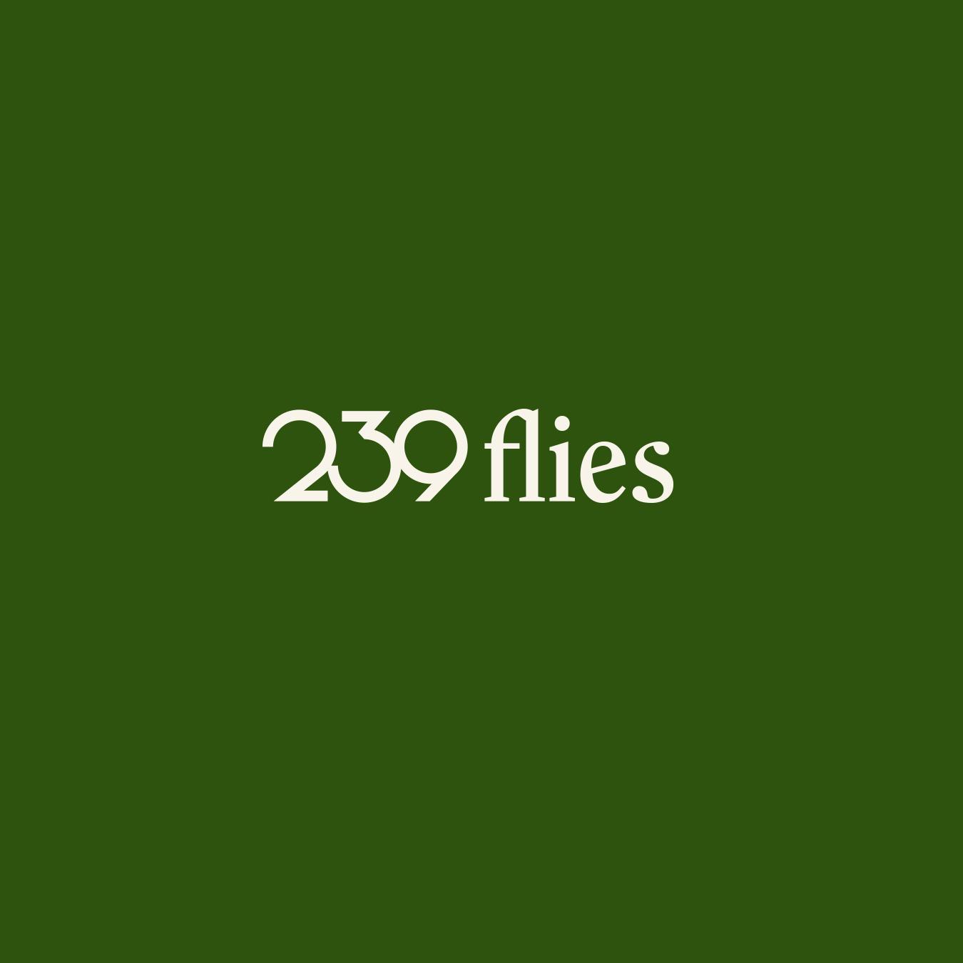 239 Flies Logo