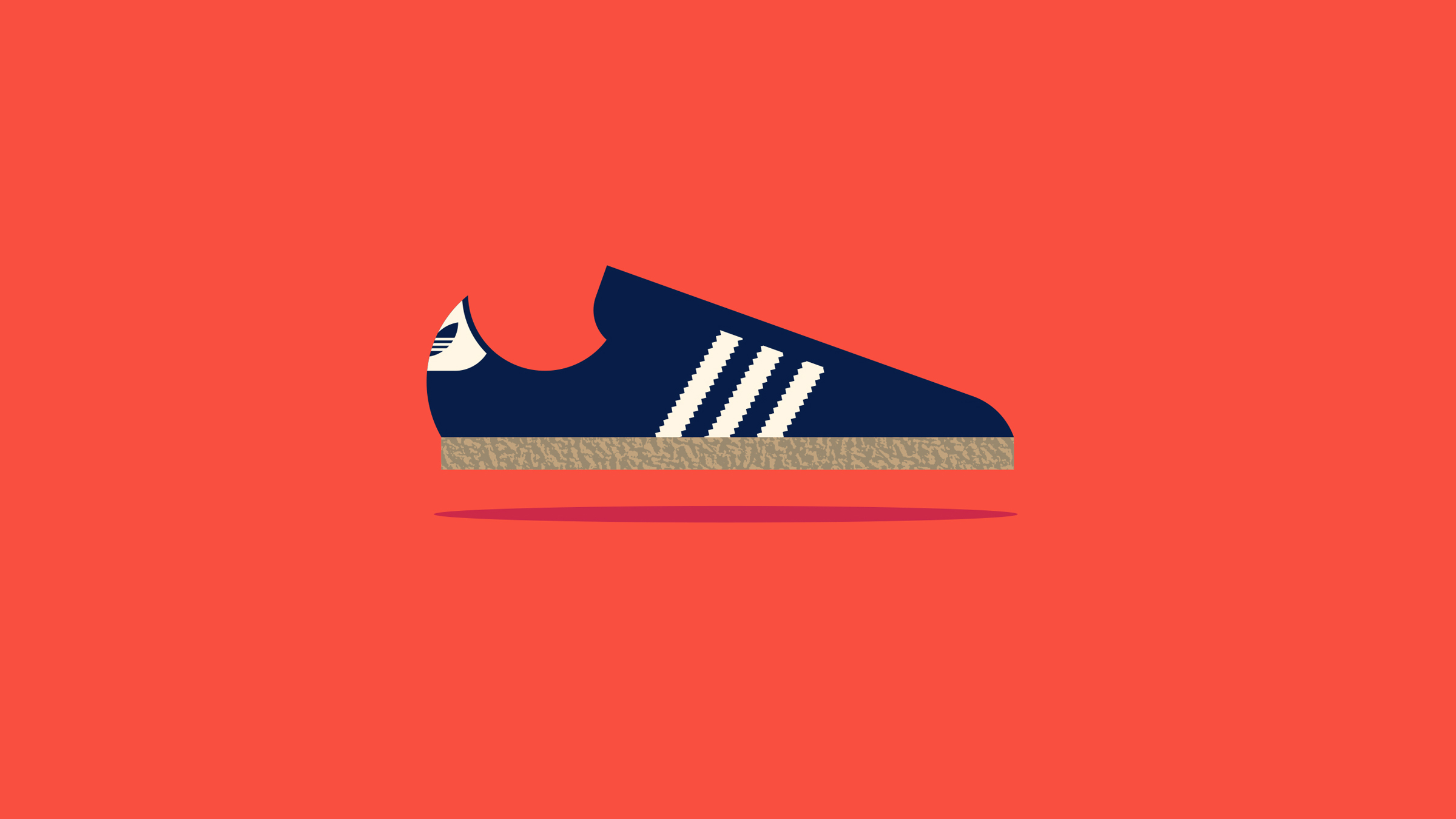 Adidas Samba Illustration