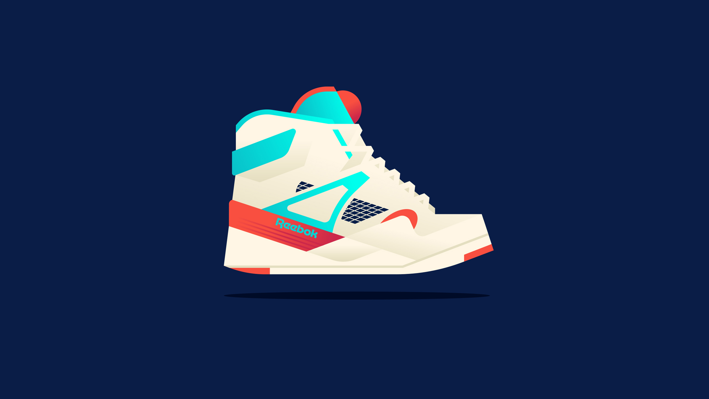Reebok Pump Illustration