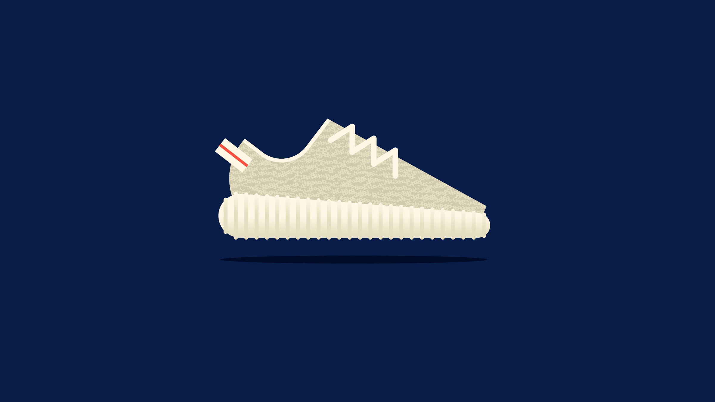 Adidas Yeezy Boost Illustration
