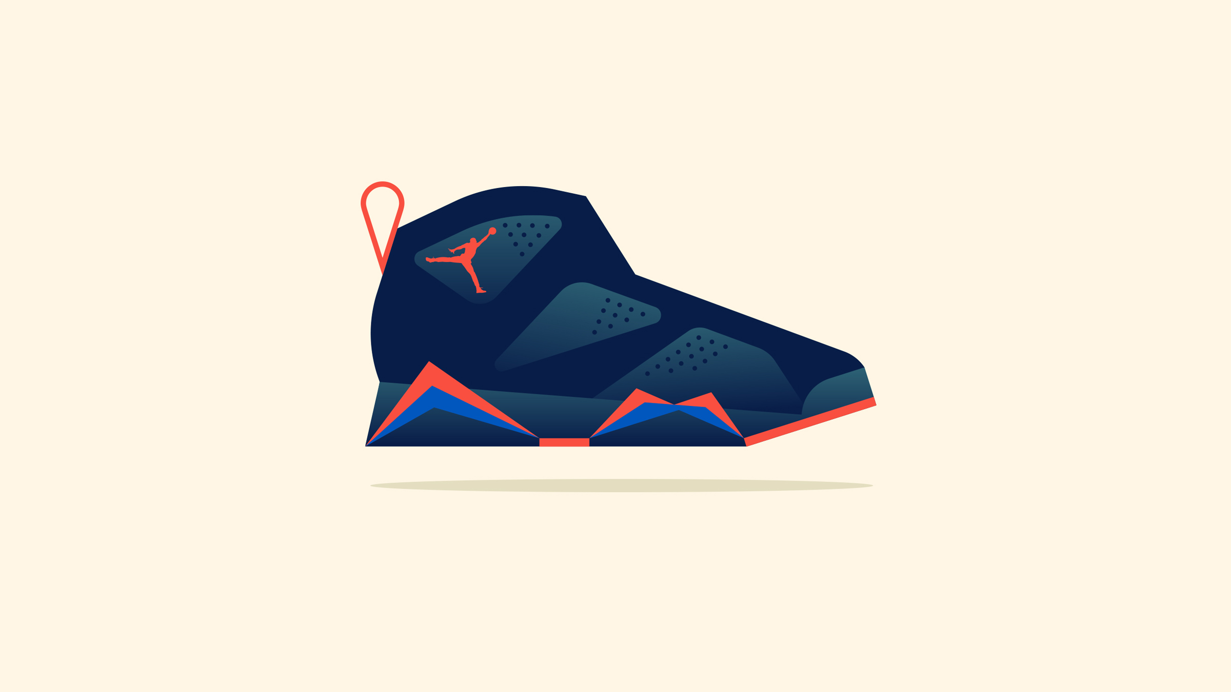 Nike Air Jordan Illustration