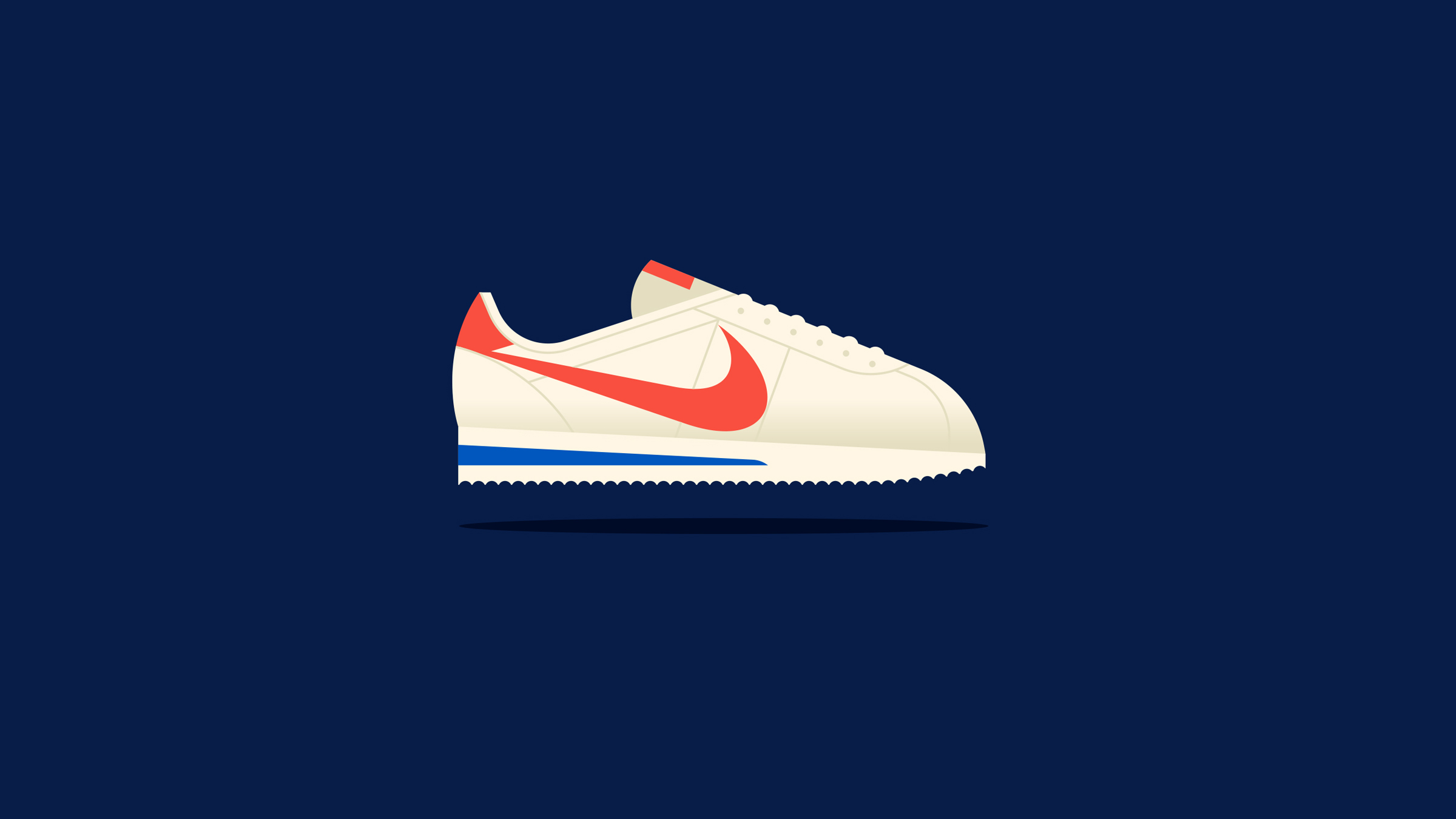 Nike Retro Racer Illustration