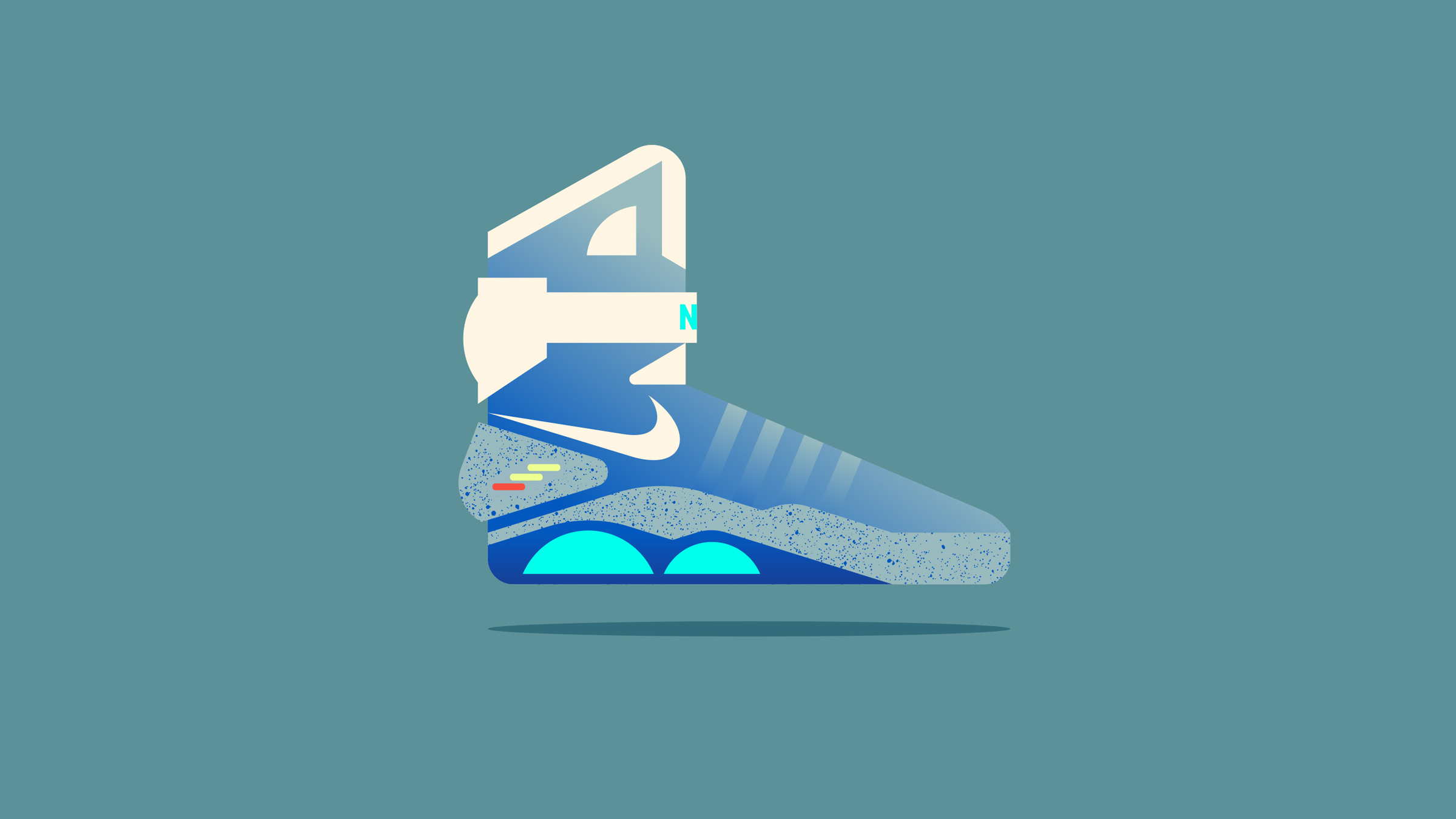 Nike Air Mag Illustration