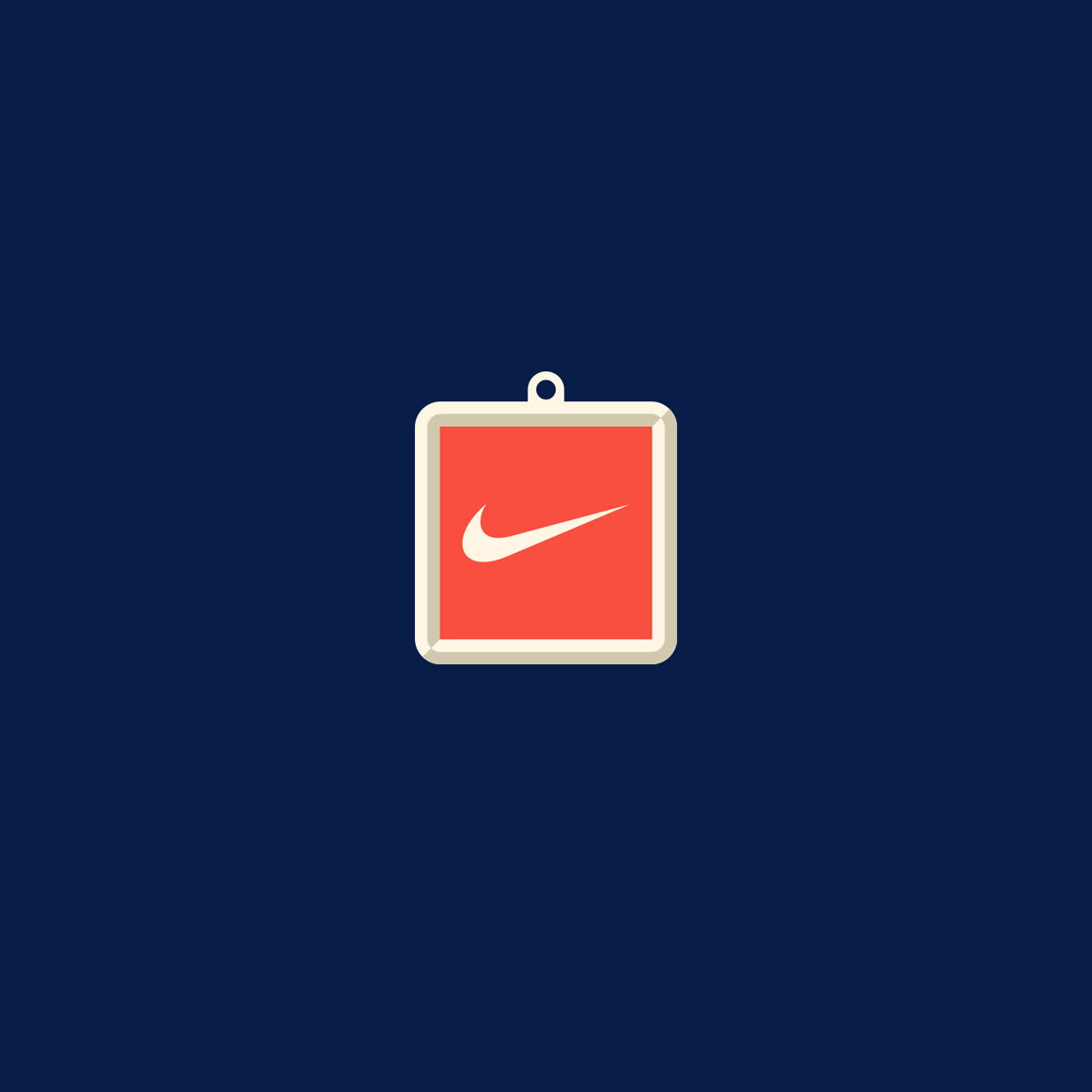 Nike Hang Tag Illustration
