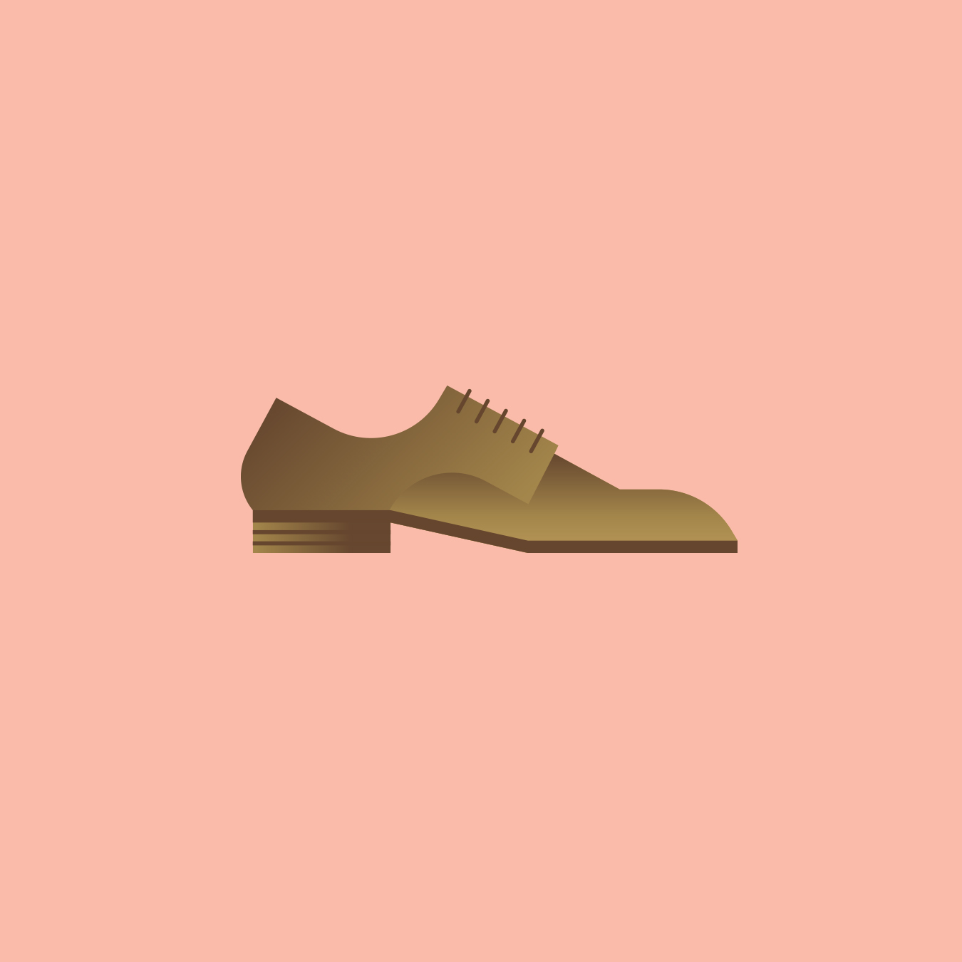 Groom Shoe Illustration