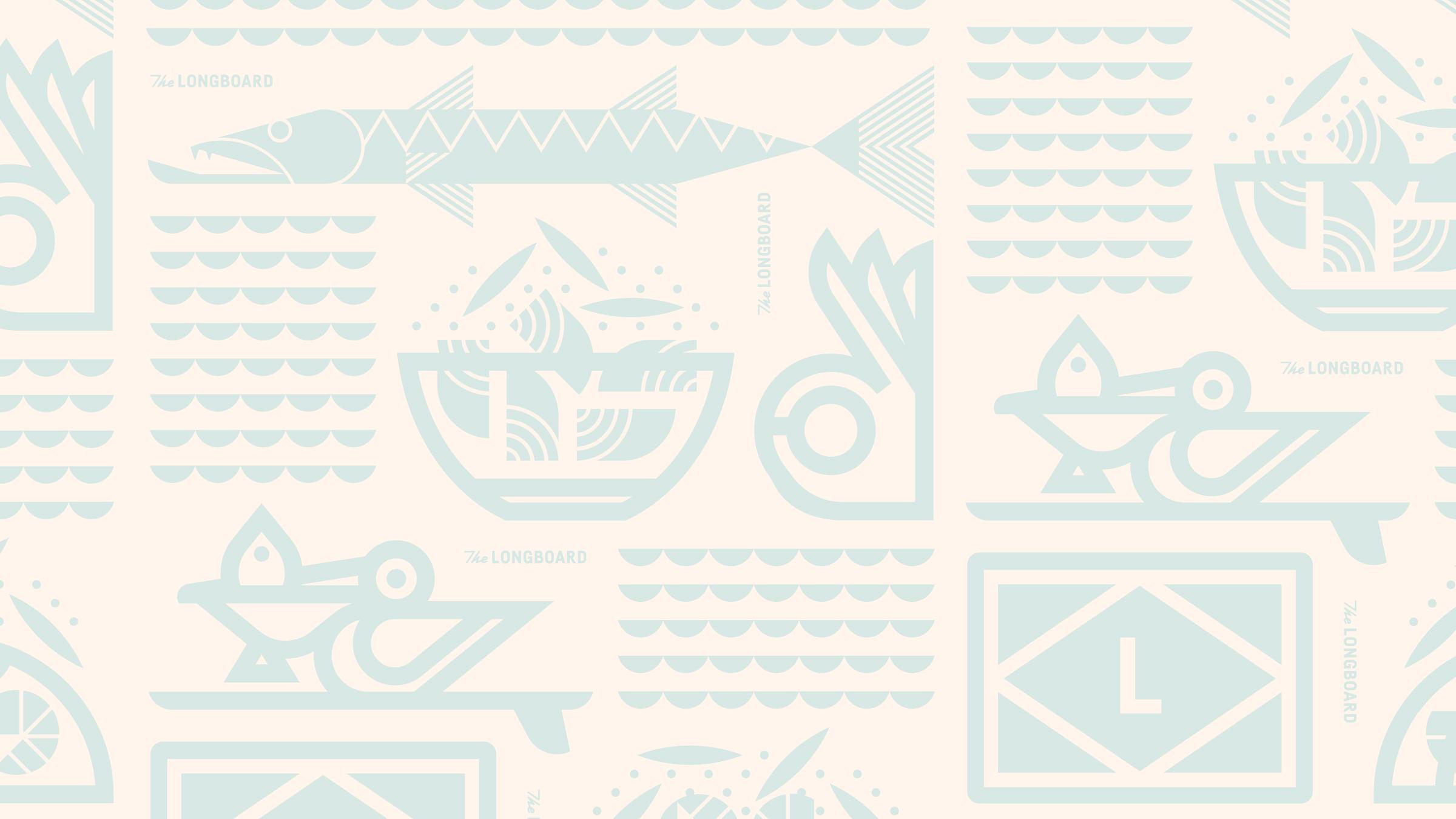 The Longboard Tray Paper Pattern