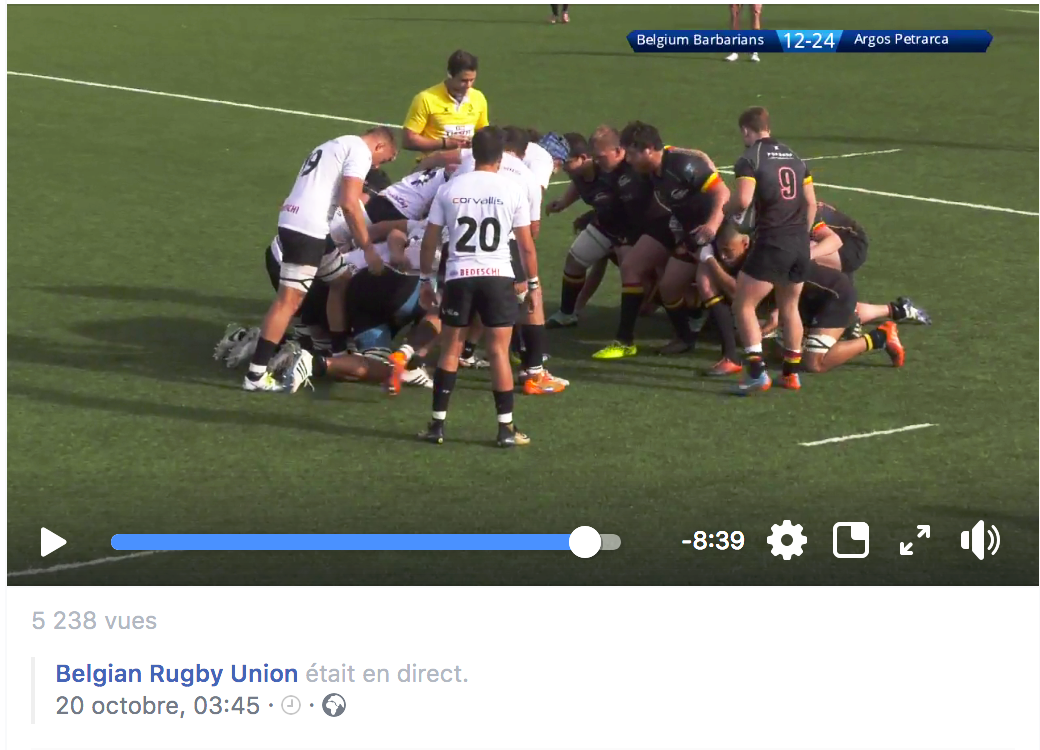 Live International Rugby - Westream.be is proud to have created a virtual stadium and helped to enlarge the visibility of the European Continental Shield Competition!#Rugby #Sport #westream.be #Innovation #Livestreaming #Communication #WeLoveOurJob