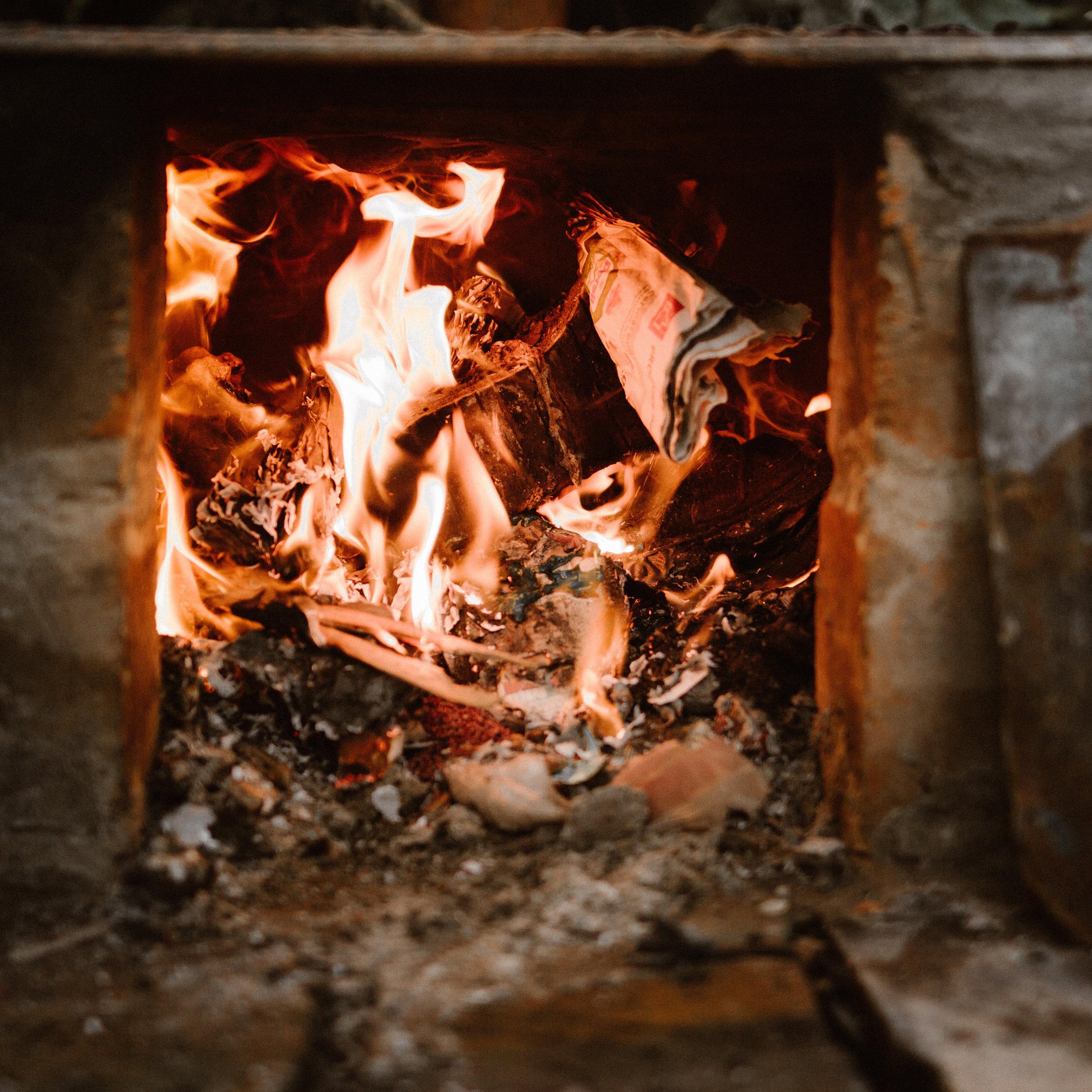 Fireplace Installation Image