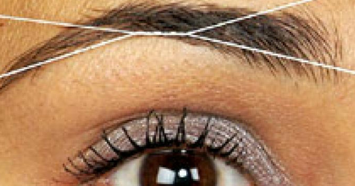 Threading - A natural hair removal alternative using a special antibacterial thread that is twisted and gently rolled over the skin.