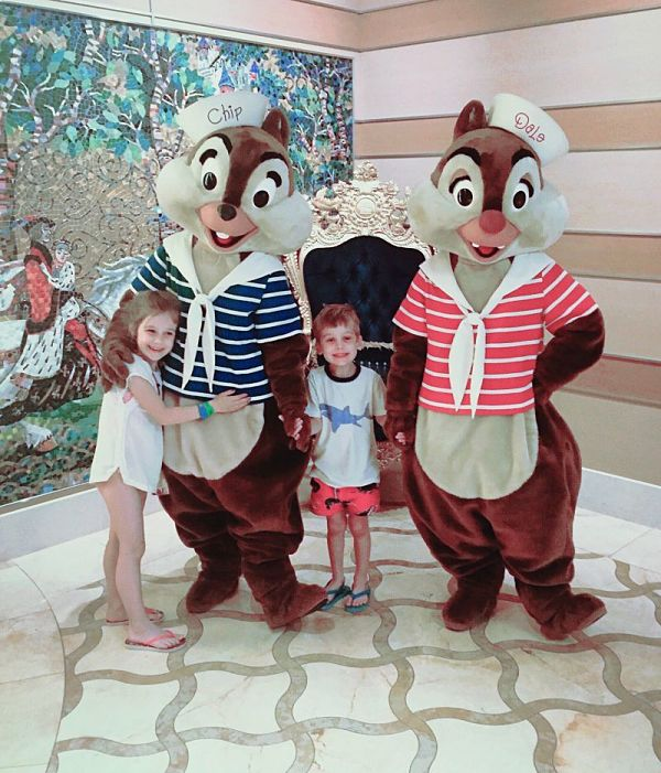This was our trip from 2016 when it was just the kids and I. We sailed on the Disney Dream.