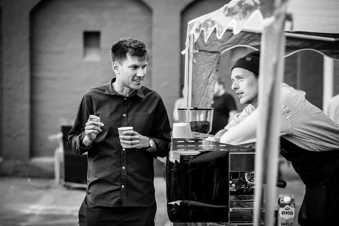 Mobil kaffebar til Odin Prisens Afterparty på CoWorking+