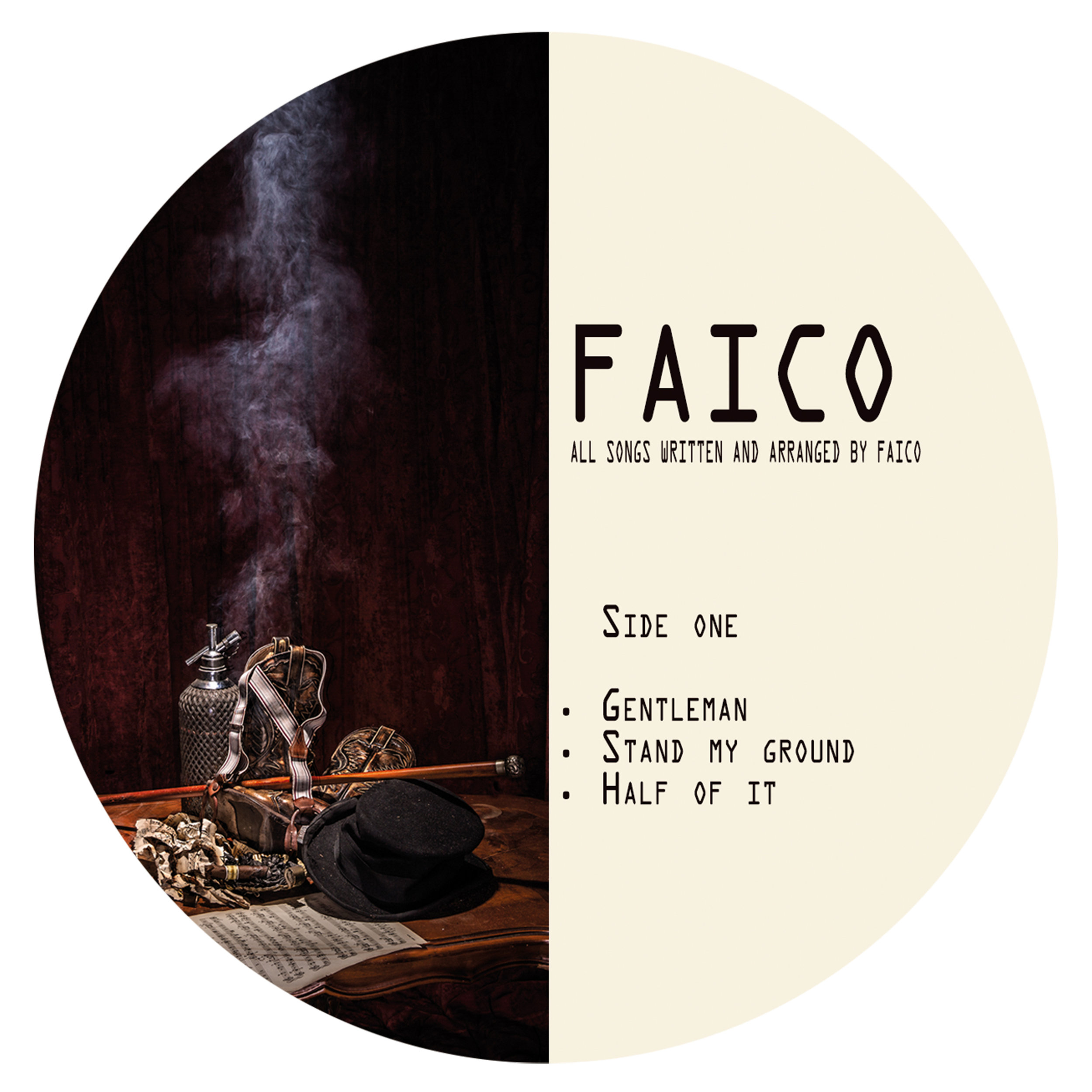 "Faico - Artwork & Lay-out EP ""Finish your Song"" 