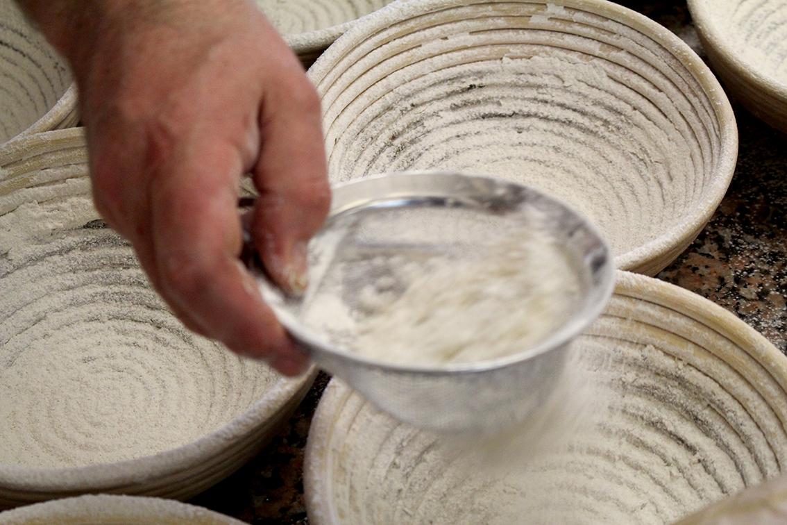Flouring the bowls.jpg